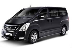 Машина с водителем. Такси. Трансфер из Бангкока в Паттайю. Тип 4. Hyunday H1 Deluxe