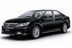 Такси в Тайланде. Аренда машины с водителем в Тайланде. Тип 1. Toyota Camry